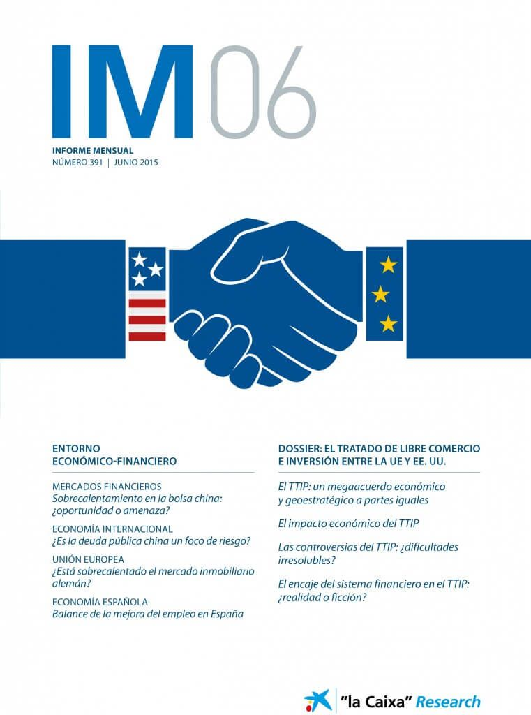 """Informe mensual """"laCaixa"""" Research Junio 2015"""
