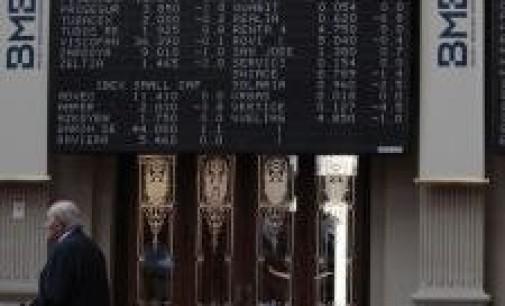 El Ibex cae por debajo de los 7.600 puntos empujado por Grecia y la presión sobre la deuda española