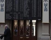 El Ibex rebota un 2,15% y alcanza niveles de finales de enero impulsado por el Dow Jones