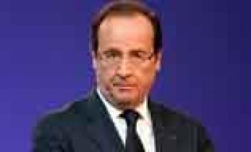Hollande ya no piensa en crecimiento