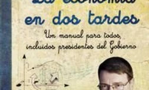 Jordi Sevilla publica <em>La economía en dos tardes</em>