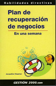 Plan de recuperación de negocios, de Gestión 2000