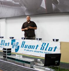 Alberto Ranz , socio de Avantslot, quien confío en Avalmadrid para montar su empresa