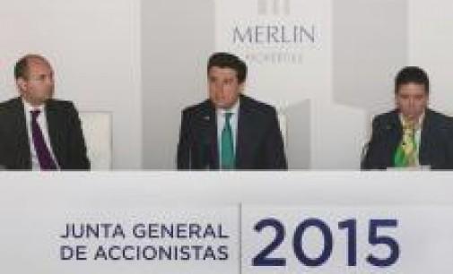 Merlín ampliará capital por 614 millones para abordar nuevas inversiones inmobiliarias