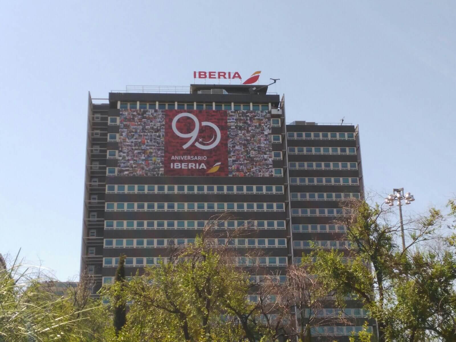 Iberia celebra el 90 aniversario y su puntualidad