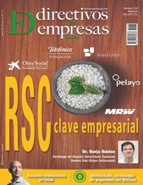 Portada revista Directivos y Empresas número 158