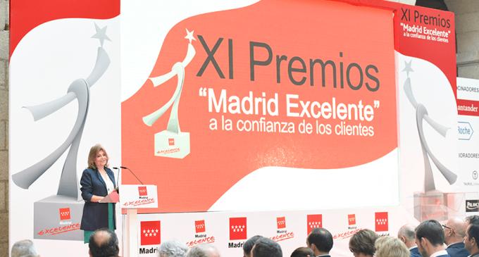 XI Premios Madrid Excelente a la Confianza de los Clientes