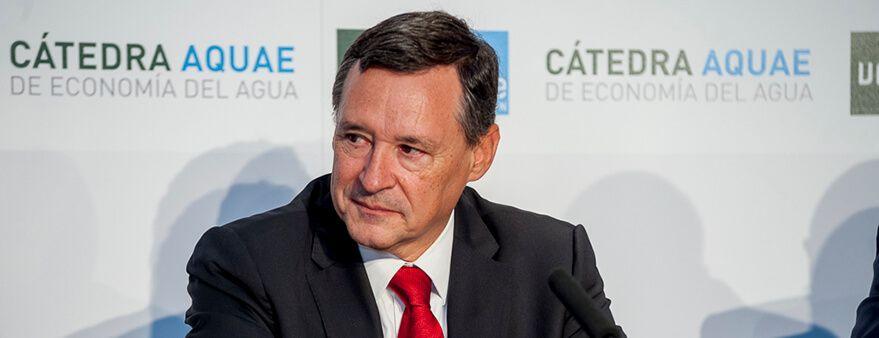 Angel Simón, presidente de Agbar y Fundación Aquae