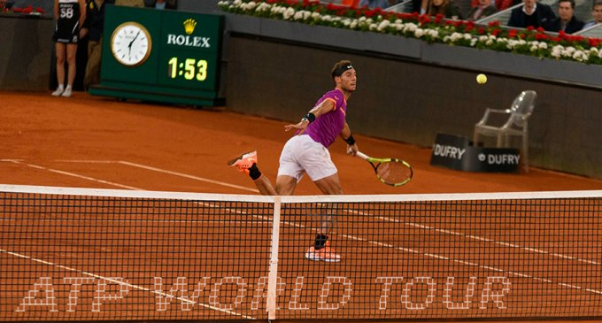 Quirónsalud cuida de los tenistas del Mutua Madrid Open