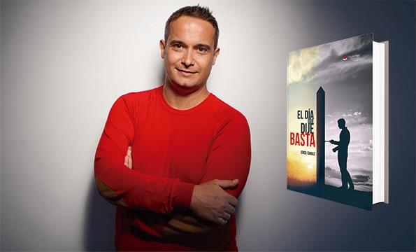 """Erick Canale, autor del libro """"El día que dije basta"""""""