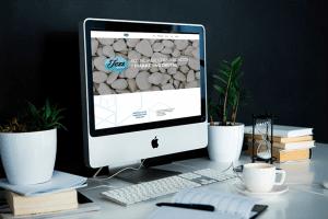 Página web de Jezz Media, empresa de Erick Canale