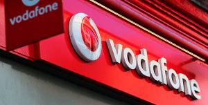Marco tienda Vodafone.