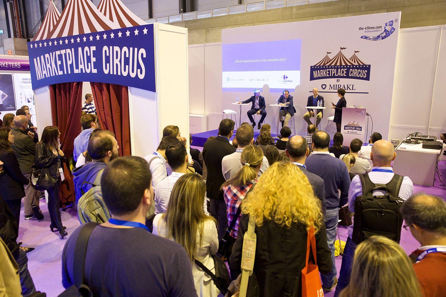 Marketplace Circus en eShow 2017.