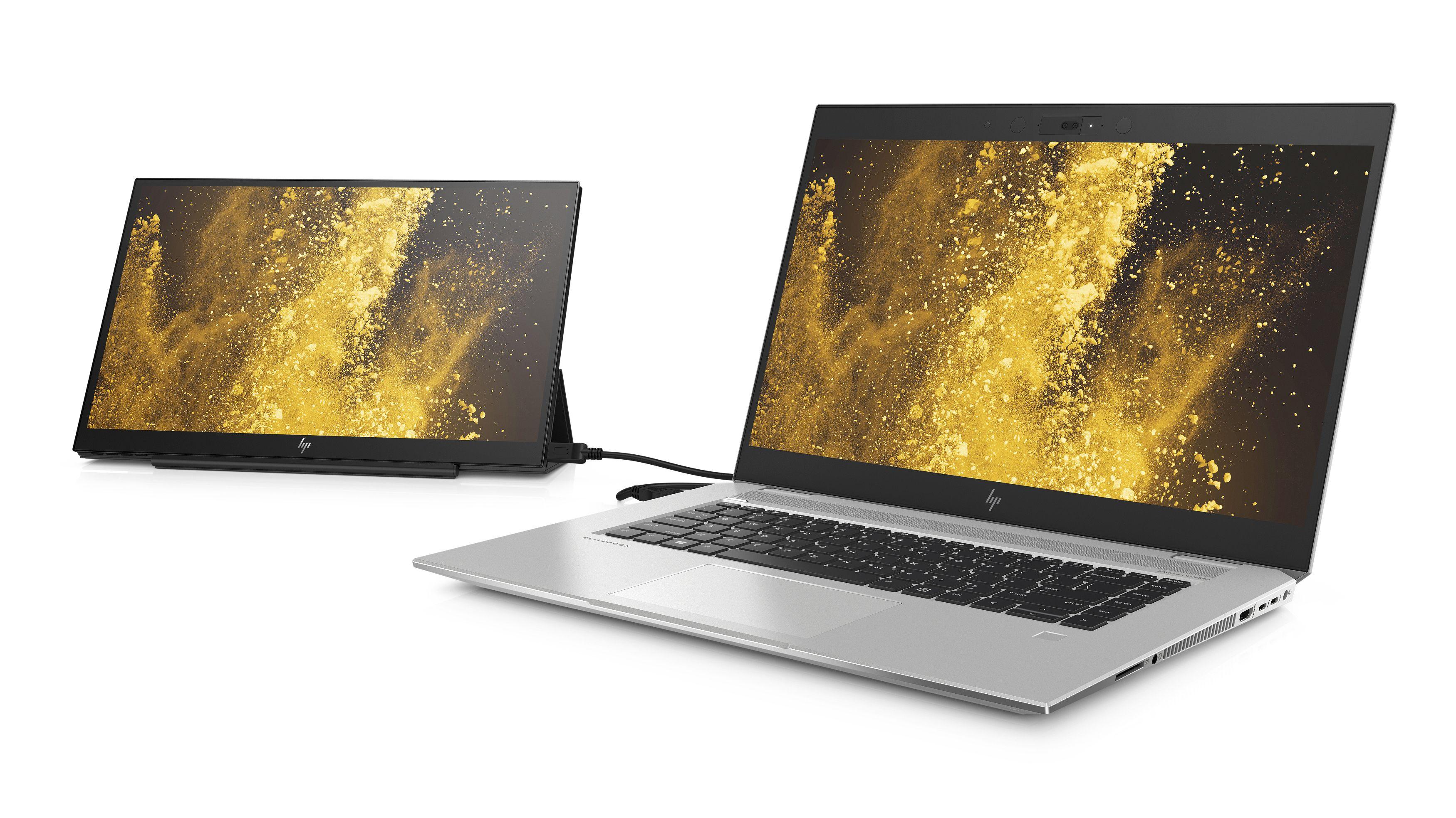 HP EliteDisplay S14 con conexión USB Tipo C