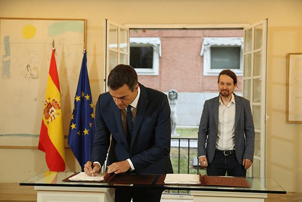 Gobierno de España presupuestos.