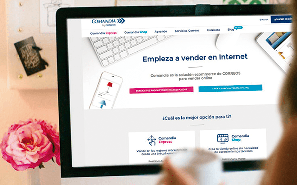 Web Comandia.