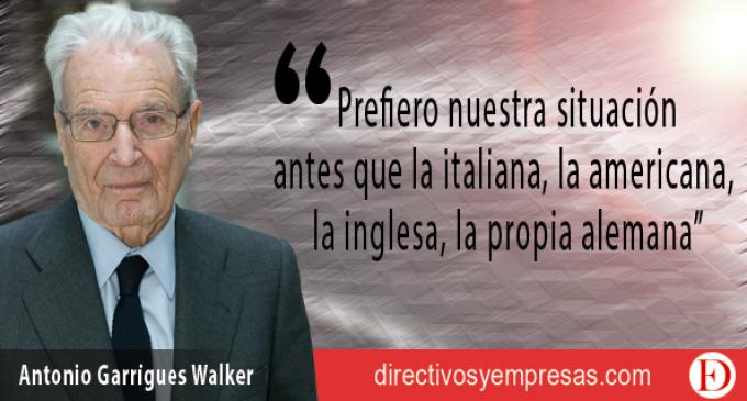 """Garrigues y la incertidumbre: """"en España hay déficit de mentalidad global"""""""