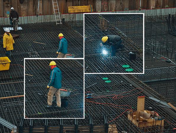 Quirónprevención trabaja por reducir la siniestralidad en la construcción.