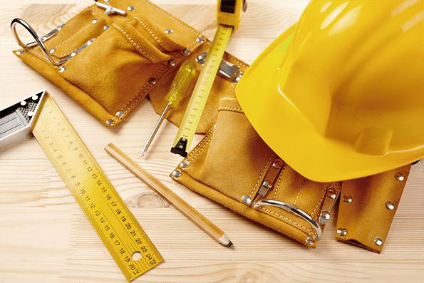 Material para prevenir accidentes en las obras de construcción.