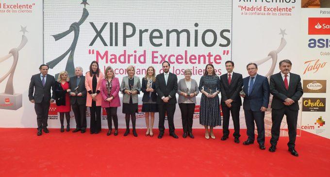 Madrid entrega sus Premios Madrid Excelente a la Confianza de los Clientes