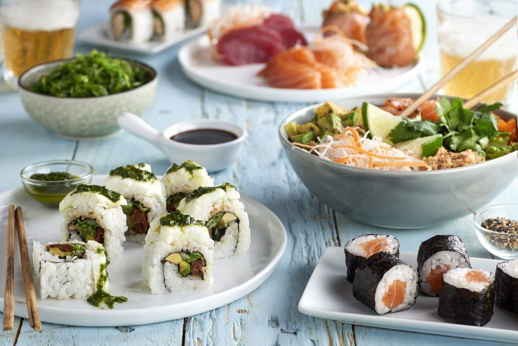 Instamaki reparte comida oriental a domicilio.