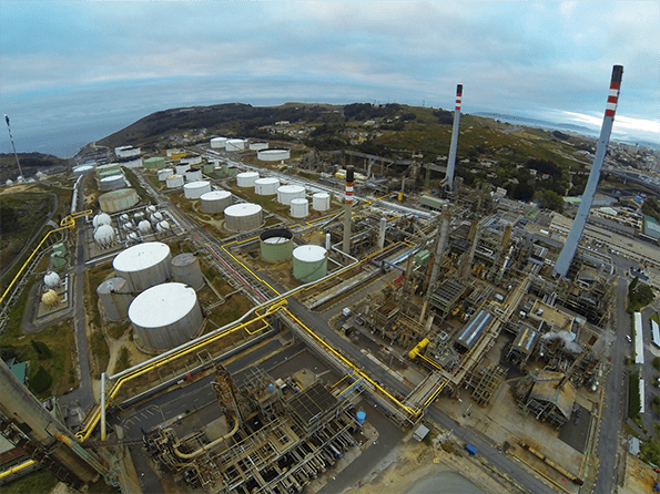 El complejo industrial de Repsol en A Coruña, primer centro del Grupo en acreditarse conforme a la nueva ISO 45001.