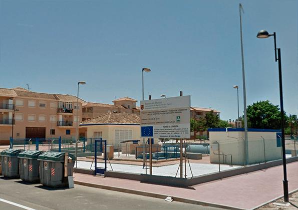 Saneamiento en Murcia.