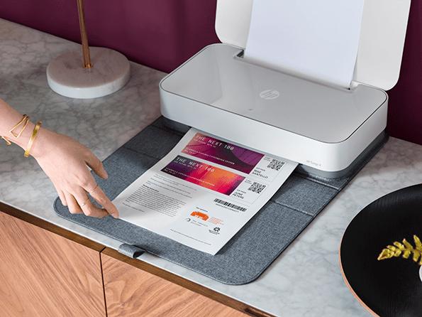 HP Tango revoluciona la impresión en el hogar.
