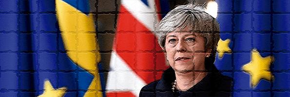 Theresa May cierra el acuerdo del Brexit con Europa.