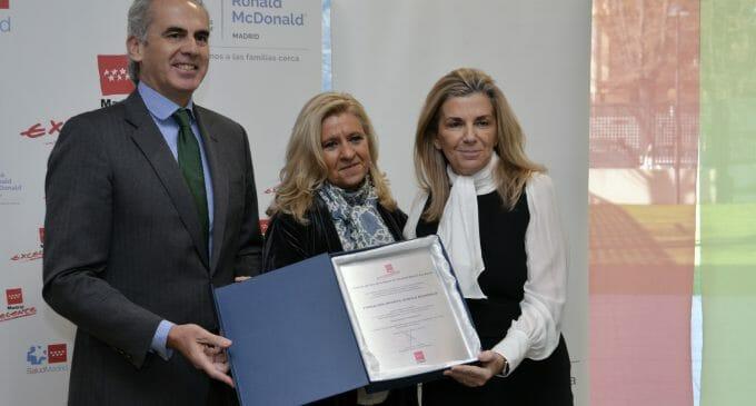 Madrid Excelente entrega su sello de calidad a la Fundación Ronald McDonlad