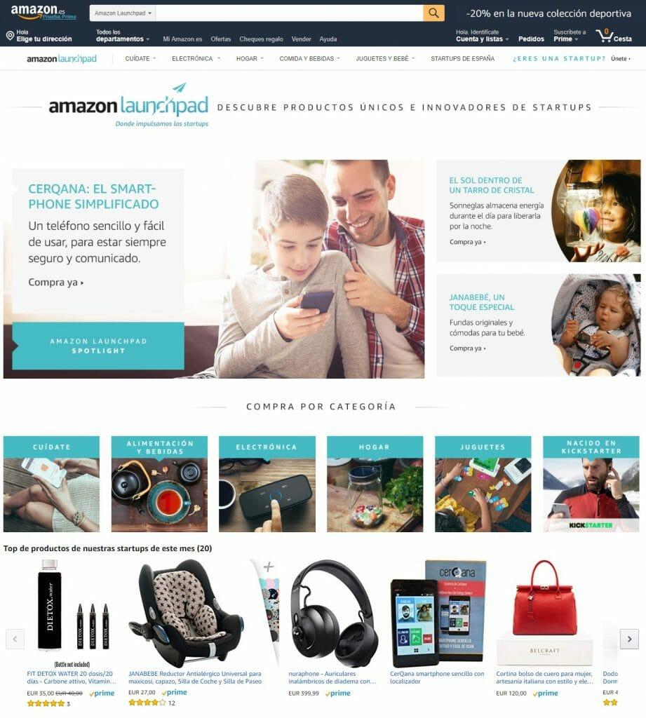 Catálogo Amazon.