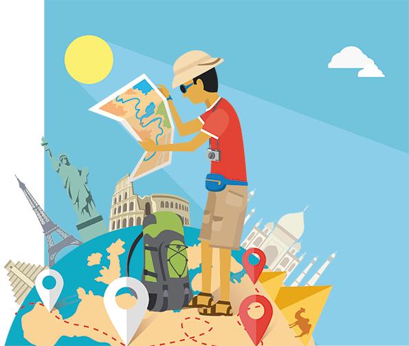 Turismo online.