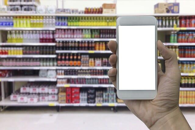 digitalización para hacer compras.