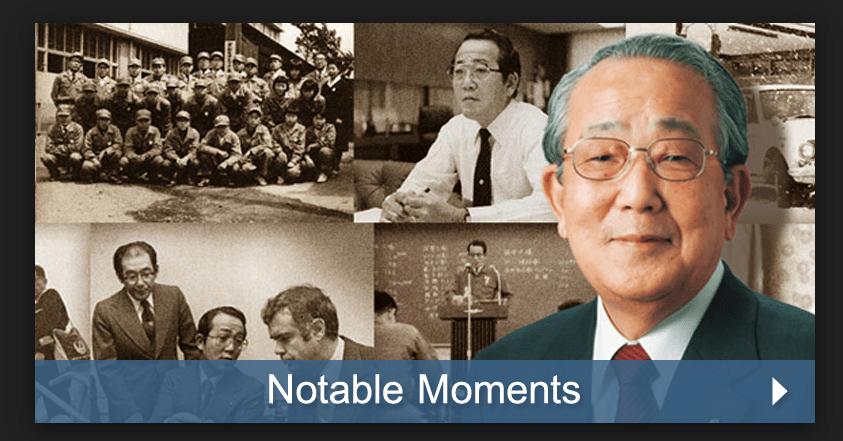 Kazuo Inamori, fundador de Kyocera Corporation