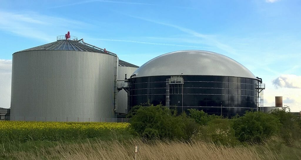 Planta de gas renovable.