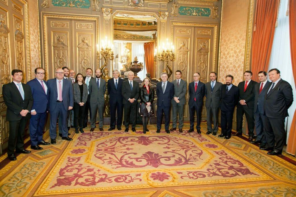 Reunión ministra de economía con el American Business Council.