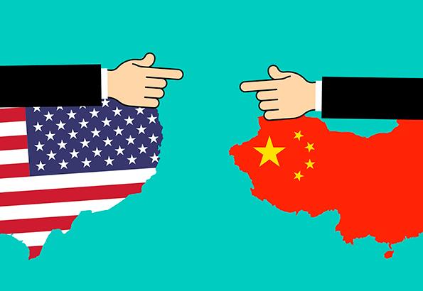 Guerra comercial entre Estados Unidos y China.