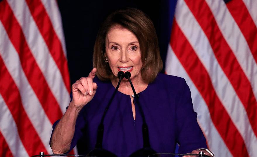 Nancy Pelosi, Presidenta demócrata de la Cámara de Representantes de Estados Unidos.