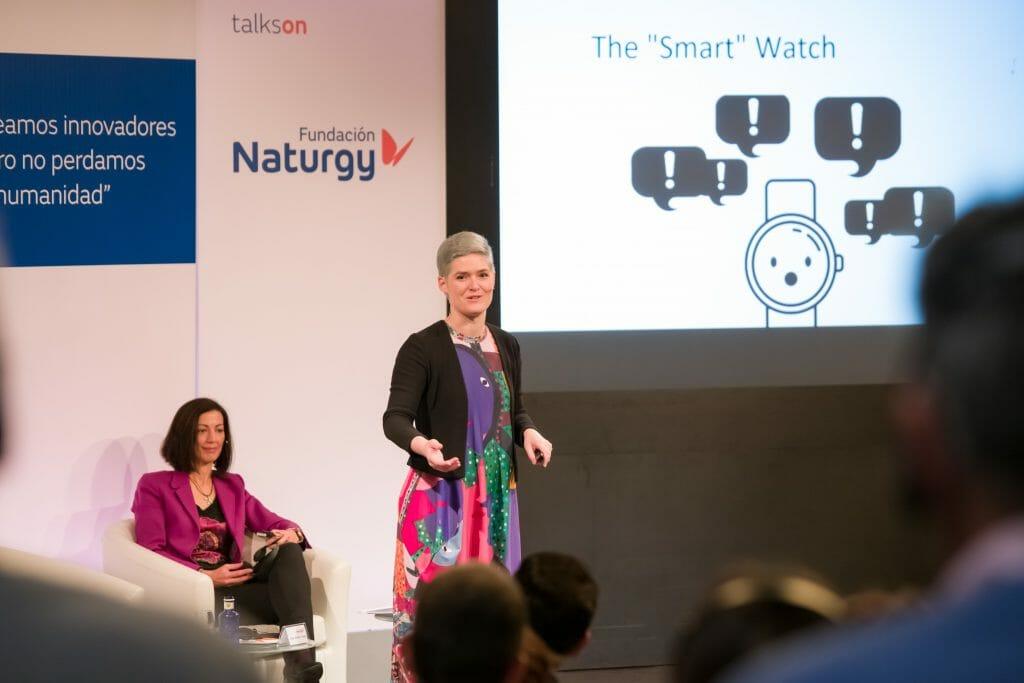 Jornada talkson de Fundación Naturgy con la participación de Amber Case.