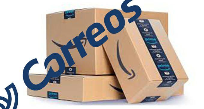 Acuerdo de colaboración entre Correos y Amazon.