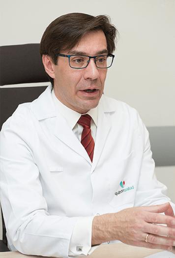 Consulta de urología del Dr. François Peinado.