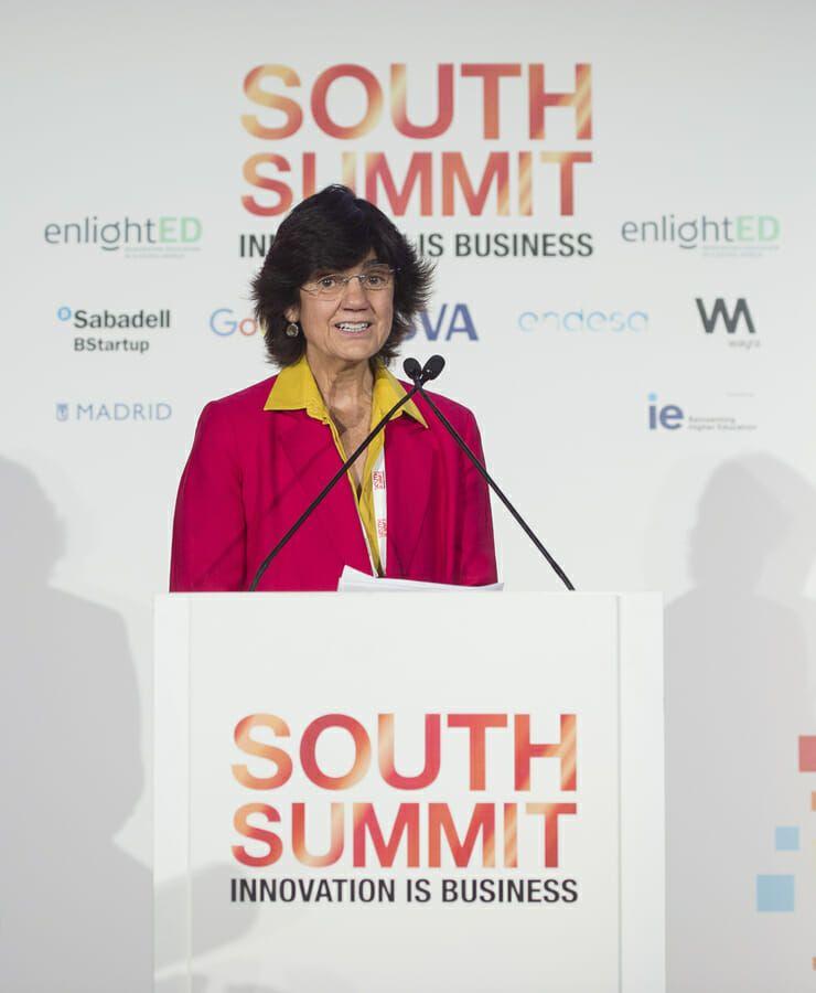 María Benjumea durante una jornada del South Summit 2018.
