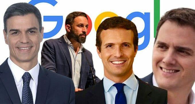 ¿Quién ha sido el político más buscado en Google en el mes de marzo?