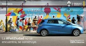 Renault y su FeliZiudad en Spotify.