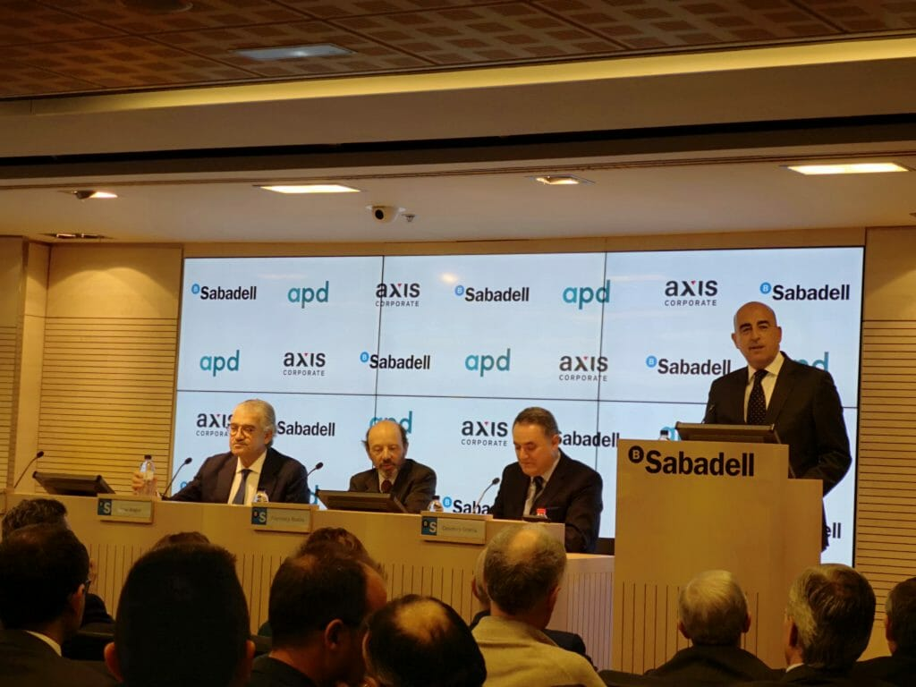 José Bogas, consejero delegado de Endesa, en la jornada de Axis Corporate.