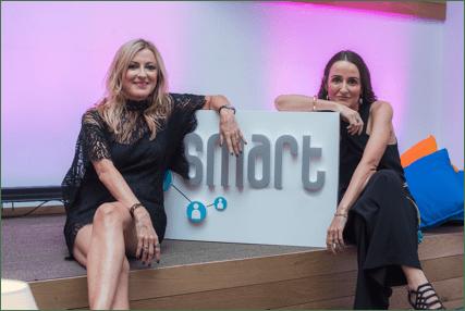 Susana Gómez y María García, socias de Smart Culture.
