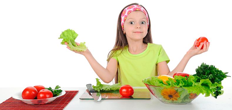 Alimentación en la población infantil.