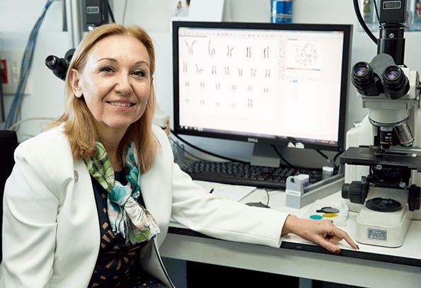 Doctora Carmen Ayuso, una referencia en la Genética española.
