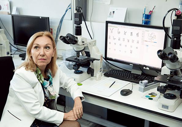 La Doctora Carmen Ayuso es una referencia en la investigación española.