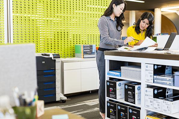 Los cartuchos de HP son respetuosos con el medio ambiente.